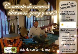 concireto cuencos tibetanos ong caceres espacio inspira centro de yoga en caceres