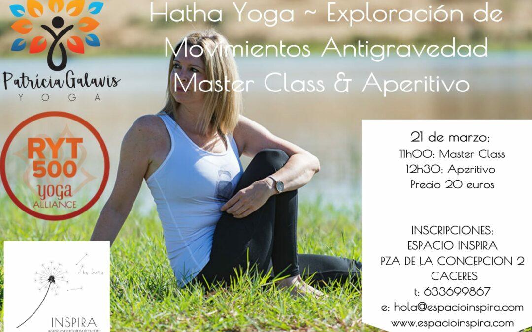 21 marzo – Hatha Yoga – Master Class + Aperitivo Saludable!
